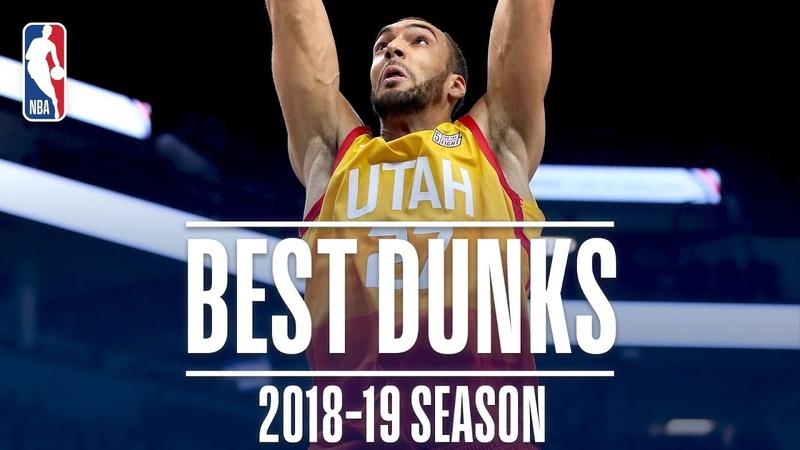Rudy Gobert's Best Dunks | 2018-2019 NBA Season | NBADunkWeek NBANews NBA