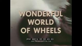 WONDERFUL WORLD OF WHEELS  1960s AUTOMOBILES   SPORTS CARS & CUSTOMS  BIG DADDY ROTH  68014