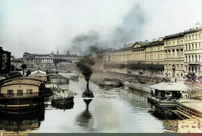 Эксклюзивные цветные фотографии Петербурга начала 20 века, изображение №3