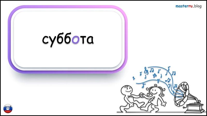 дни недели РКИ days of the week Russian language dni tygodnia język rosyjski