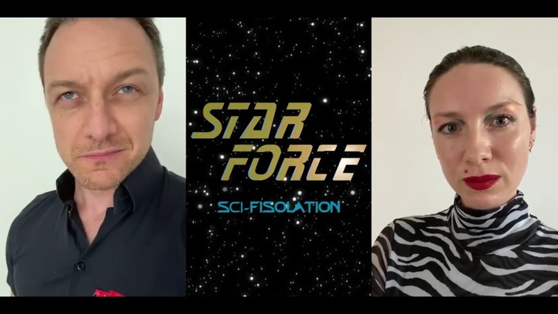 Star Force: Sci-Fisolation (James McAvoy, Caitriona Balfe, Steven Cree)