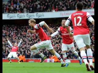 OnThisDay in 2012 - @Mertesackers first goal - Our second 5-2