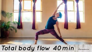 Total body yoga - morning practice | 40min | strength | flexibility | mobility | all levels