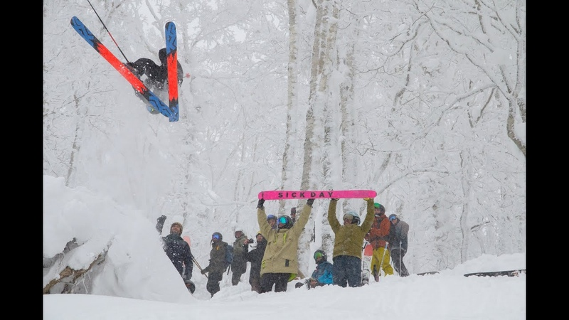 Japan Powder Party Eric Pollard Friends @ Rusutsu