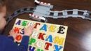 Паровоз везет буквы Русский алфавит от А до Я Видео для детей Азбука для малышей АБВГД