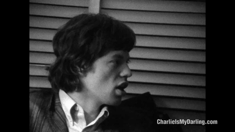 Mick Jagger Keith Richards writing Sittin on a Fence - Charlie is my Darling | ABKCO Films