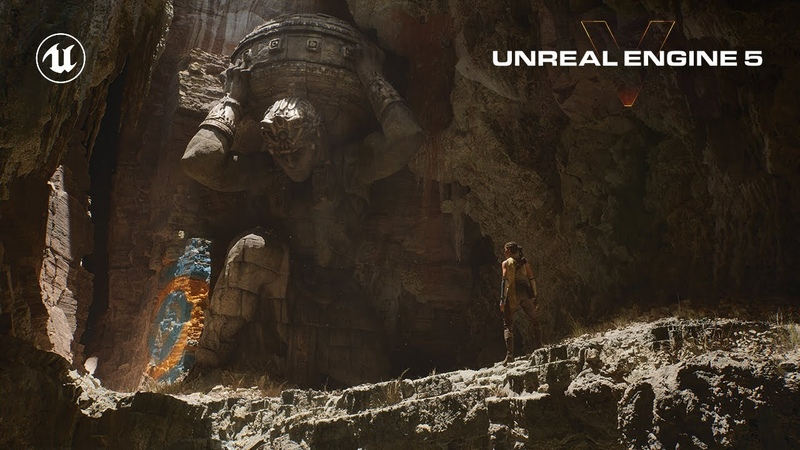 Unreal Engine 5 Revealed Next Gen Real Time Demo Running on PlayStation 5