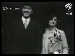 1935 wedding of Helen Stewart (1935)