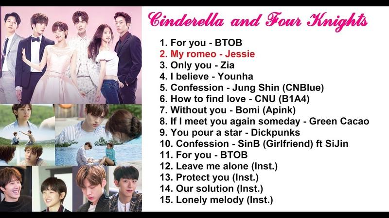 FULL OST Cinderella and Four Knights 신데렐라와 네 명의 기사 OST Lọ Lem và tứ kỵ