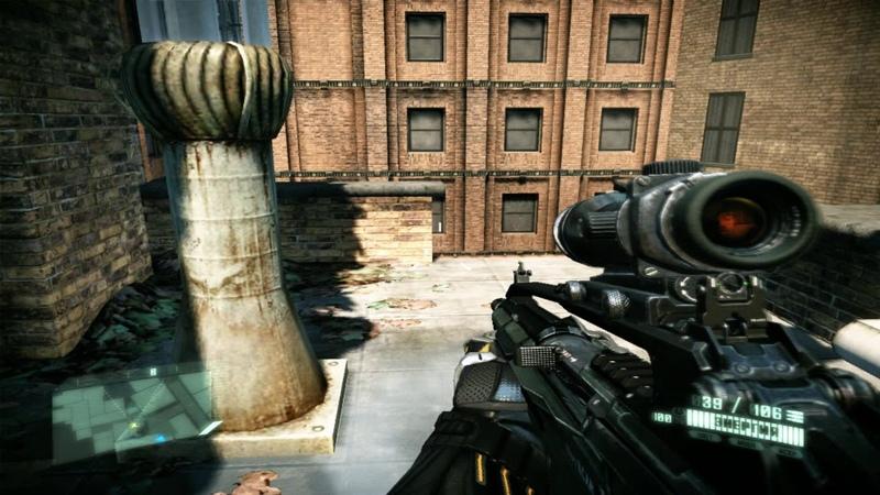 Crysis2 Прохождение Часть 5 Страж ворот Ходячий мертвец