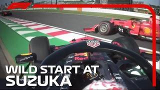 2019 Japanese Grand Prix: Wild Start At Suzuka