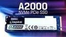 3D NAND'lı 1TB M 2 NVMe SSD Kingston A2000