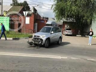 В ДТП виноват грузовик закрывший обзор на дорогу. Балашиха