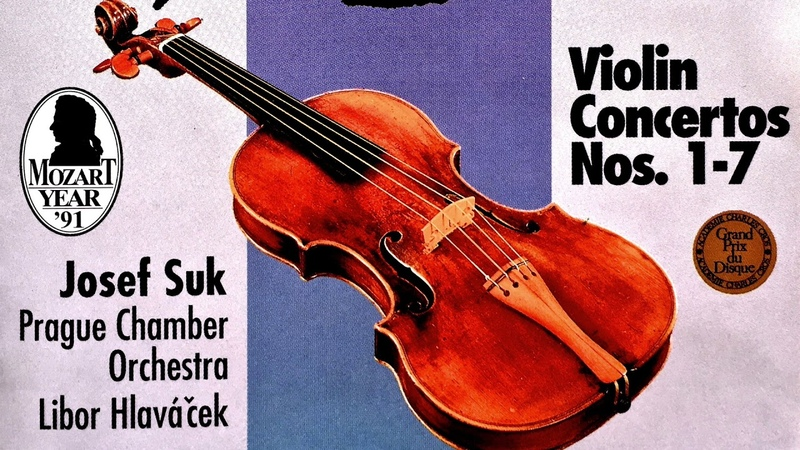 Mozart - The Violin Concertos n°1,2,3,4,5,6,7 (recording of the Century : Josef Suk / Hlaváček)