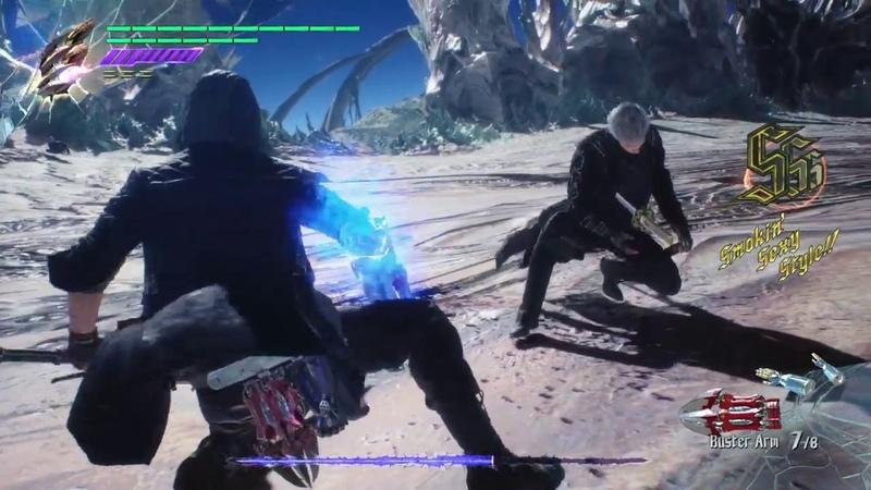 Devil May Cry 5 Nero vs Vergil DMD No Damage