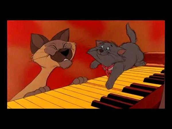 Коты аристократы Каждый хочет быть котом