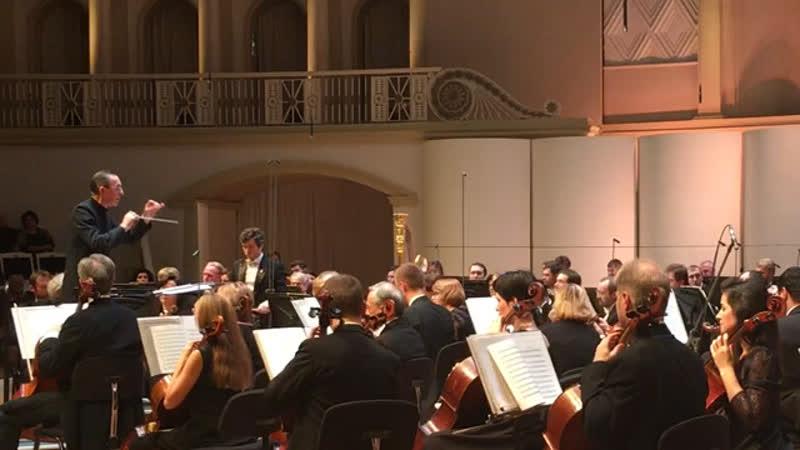 Равель Ravel Болеро Svetlanov Symphony Orchestra Conductor Valery Platonov Валерий Платонов КЗЧ