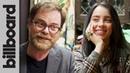 Billie Eilish gets QUIZZED by Rainn Wilson on 'The Office' Billboard
