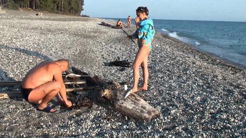АБХАЗИЯ.подводная охота. горбыль. 2010 HD