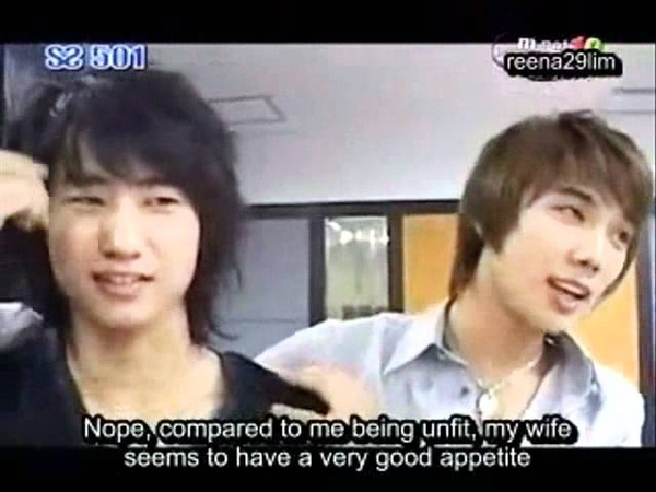 SS501-Kim Hyun Jung(Leader) want Heo Young Saeng(Prince) to get MARRY