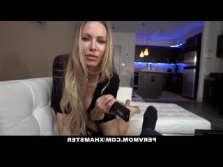 [Pervmom, Nicole Aniston] PervMom - Beautiful Milf Blows Her Stepson's Fat Cock