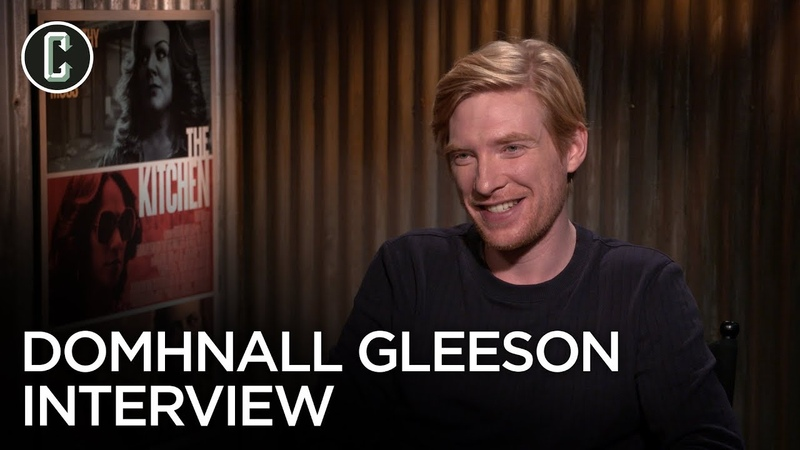 Domhnall Gleeson on The Kitchen and Star Wars 9