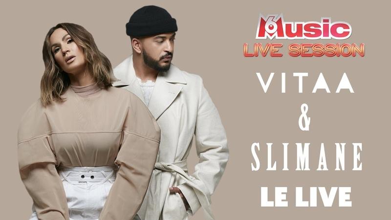 La M6 Music Live Session de VITAA SLIMANE : 5 titres LIVE 1 ITW exclusive