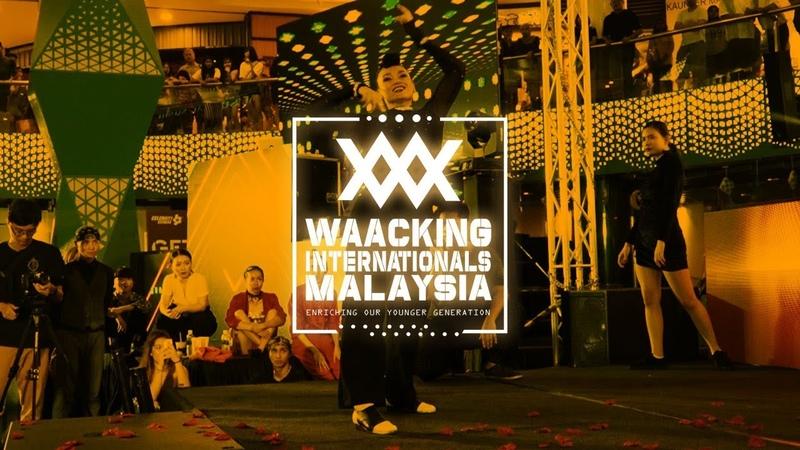 Team Afrodite vs Team DaShine 2v2 Top 8 Waacking Internationals Malaysia 2019 RPProds