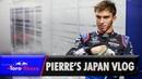Pierre Gaslys Japanese Grand Prix Vlog