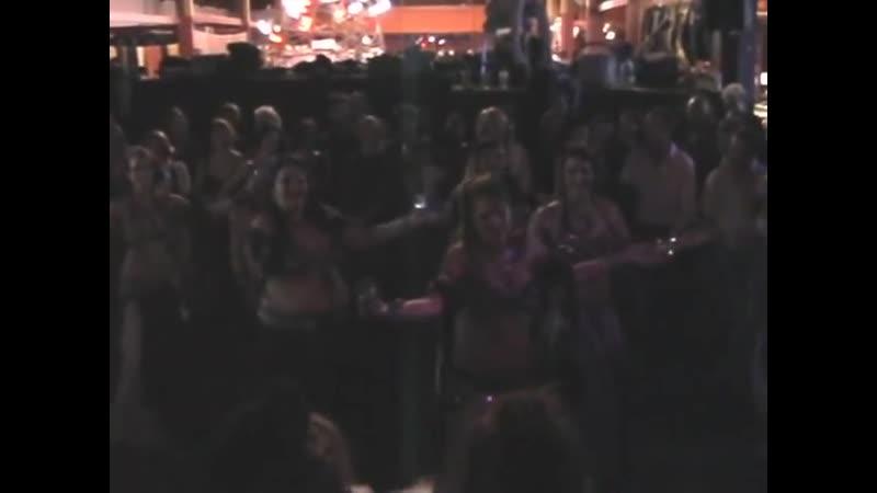 WildCard BellyDance tribal belly dancing at a Rockin Party in Sebastopol