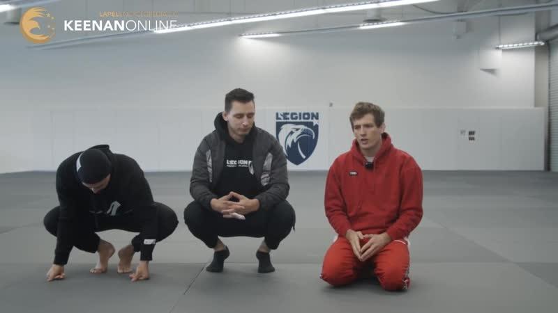 Keenan Cornelius street jiu jitsu test Кинан Сеанс