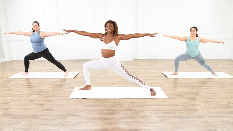 30 минутная йога с Койей Уэбб 30 Minute Yoga Session With Koya Webb