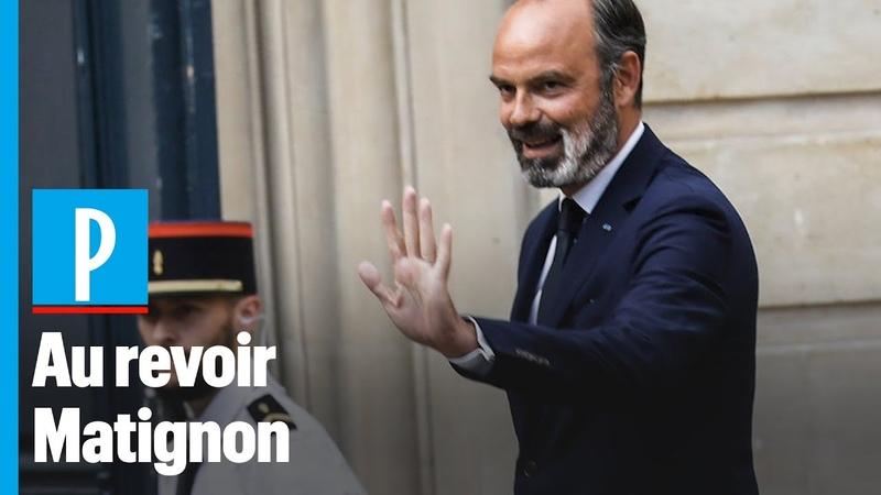 Soyez bon et bon vent Edouard Philippe quitte Matignon