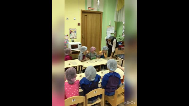 Мастер класс по шоколаду в детском саду