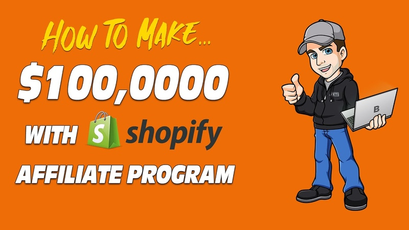 Shopify Affiliate Marketing Program Success (Step by Step Case Study)