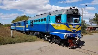 Special train Borzhava narrow gauge railway