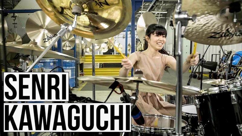 Senri Kawaguchi Zildjian Factory Solo