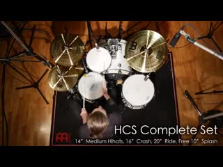 Сэт Meinl Cymbals HCS141620+10 HCS Cymbal