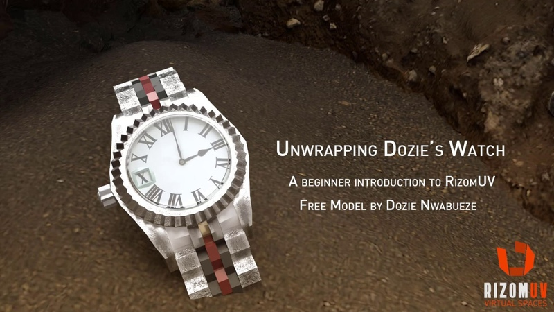 Unwrapping Dozie's Watch Part 1 Cutting and Unwrapping