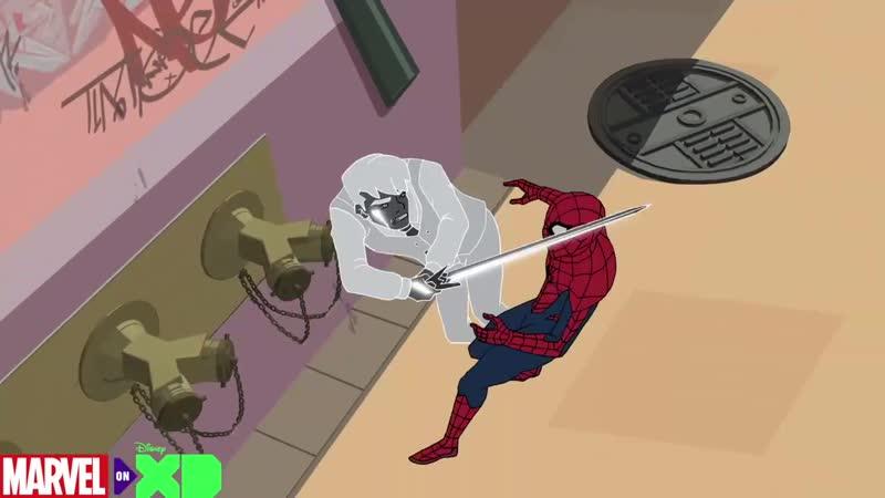 Фрагмент из 20 серии Marvel's Spider-Man