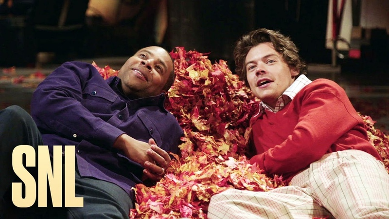 SNL Host Harry Styles and Kenan Enjoy the Magic of Fall