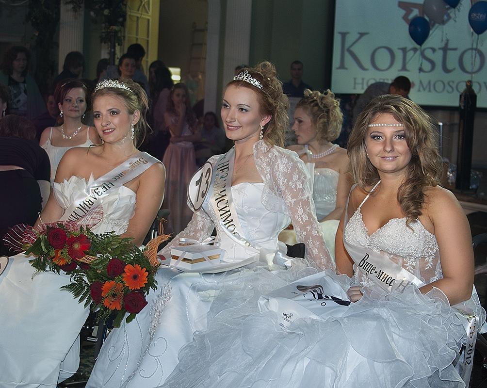 слева направо: Анна Драгина, Людмила Васильева, Дарья Кузнецова