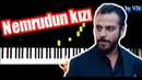 NEMRUDUN KIZI Çukur Dizi Müziği Piano Tutorial by VN