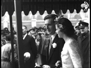 Princess Elizabeth Is A Bridesmaid At St. Margarets Wedding (1946)