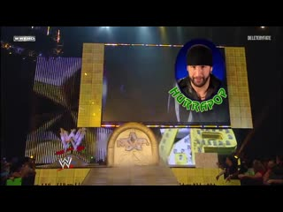 The Hardy Boyz (Jeff Hardy & Matt Hardy)  & Rey Mysterio vs. Kane & Mark Henry & MVP