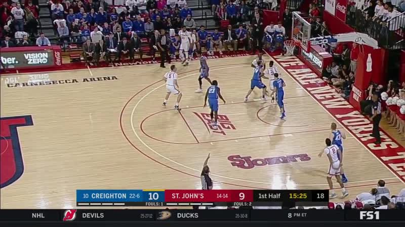 NCAAM 20200301 Creighton at St. Johns