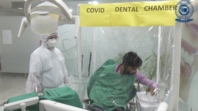 Video on Faulty Fixed Partial Denture Removal in COVID 19 Positive Patient Индия