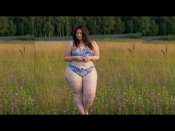 Swimsuit bikini curvy girl with beautiful costumes women plus size ideas