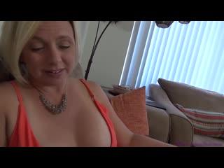 Зрелая мама трахнула сына очкарика, mature milf mom sex porn ass tit boob son cu