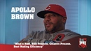 Apollo Brown - What's Next, R B Projects, Creative Process, Beat Making Efficiency (247HH EXCL)